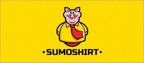 标志设计元素运用实例:猪(二)