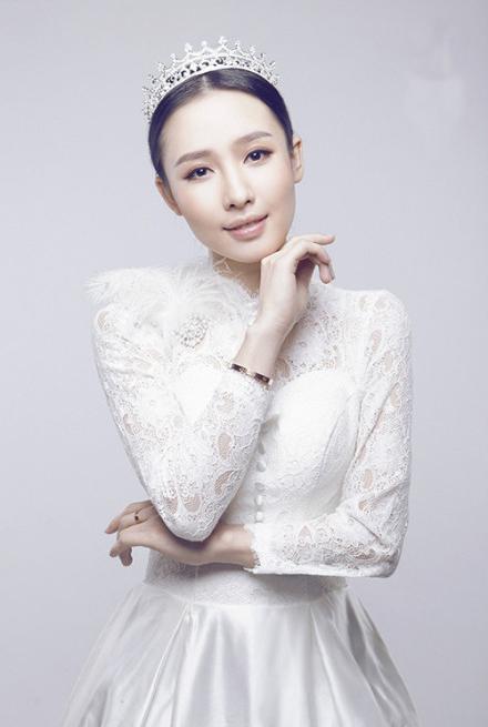 美美新娘唯美造型_妆面赏析_影楼化妆_黑光网