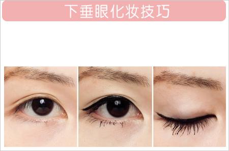 最简易画法 各种眼型的眼线画法技巧