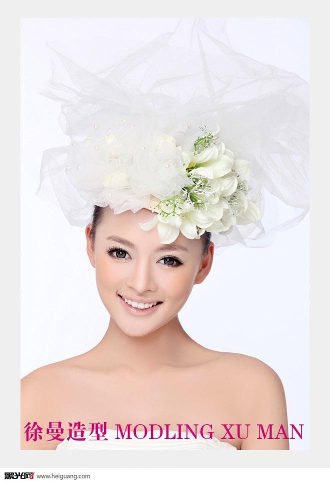 创意唯美新娘妆 化妆造型