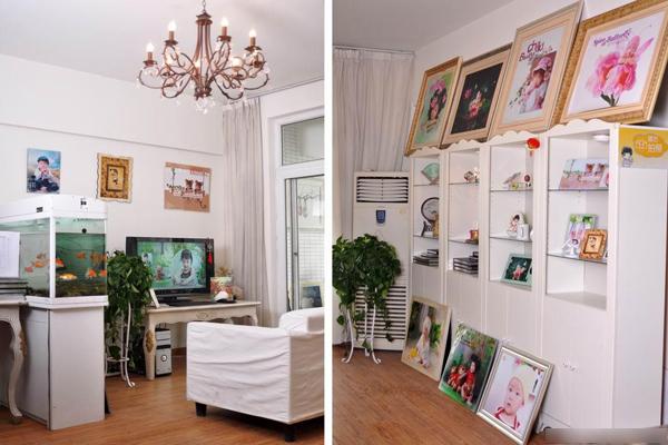 都天使贝贝儿童影楼,舒畅愉悦的装修设计空间