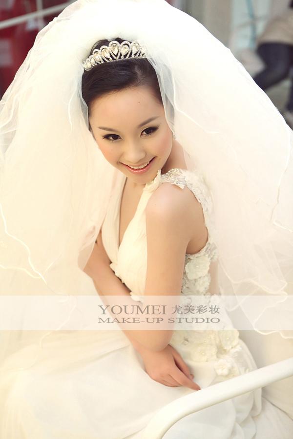 时尚新娘白纱造型 唯美浪漫气质