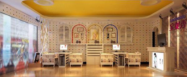 苏州宝贝秀儿童摄影 店铺装修设计实景展示