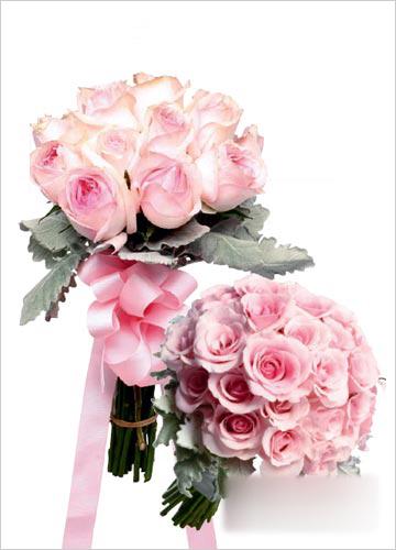 新娘手花match鲜花发饰图片