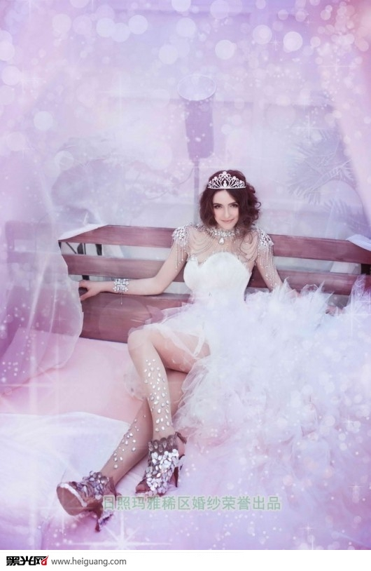 水晶婚纱_十二星座的水晶婚纱