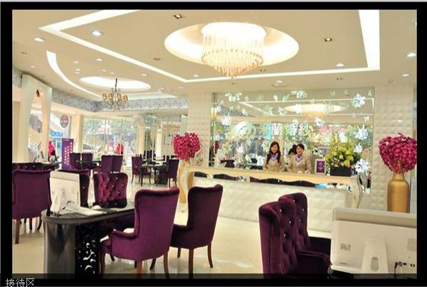 玉林米阑婚纱摄影,精致高雅的店面装修设计图片
