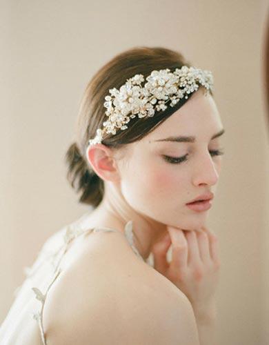 新娘头饰制作视频_26款高定头饰 做最让人心动新娘