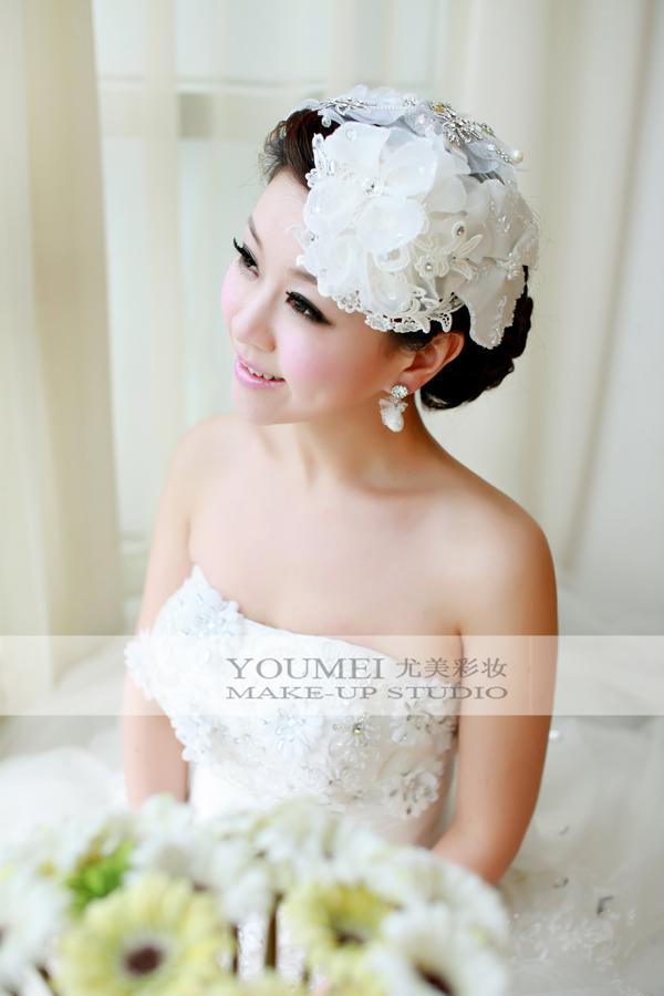 2013最新新娘造型 清纯可爱美新娘