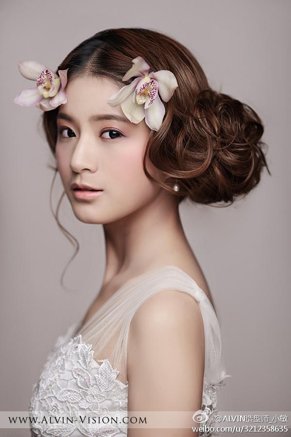 婚纱照白纱发型,白纱婚纱照排版,韩式白纱外景婚纱 ...