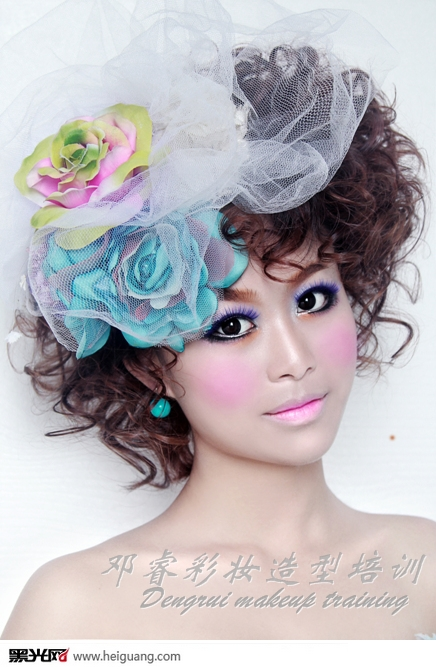 彩妆化妆造型图片