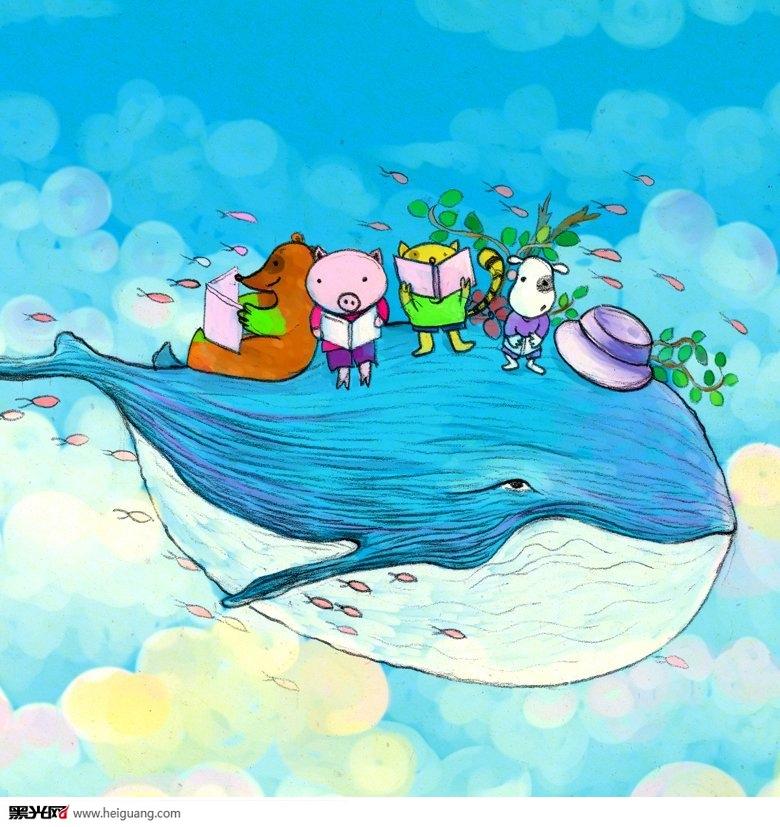 小刺猬插画