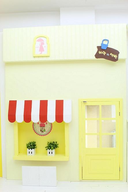 麦叔叔儿童摄影,时尚的六维实景影棚展示