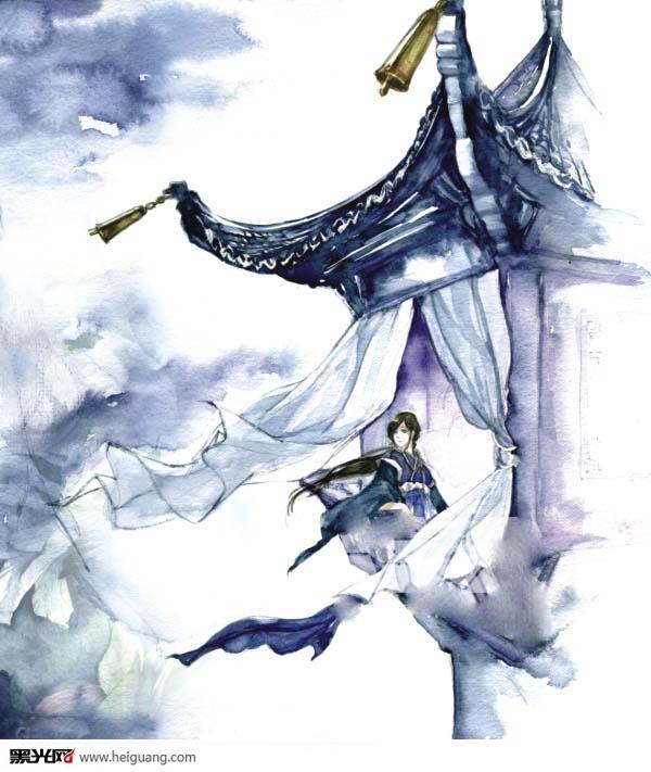 中国古风手绘欣赏