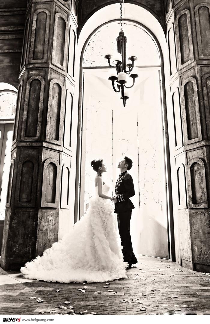 欧式婚纱照婚纱摄影图片