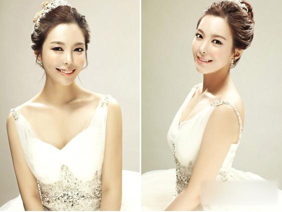 韩式新娘头发造型
