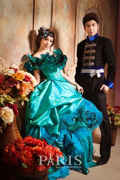 美丽之约:童话城堡古典欧式风格实景摄影