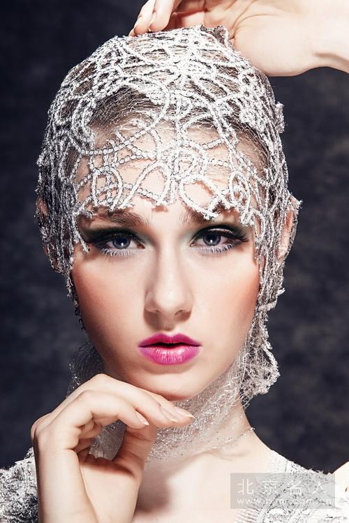 时尚创意外模化妆造型图片