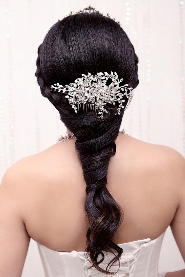 曲阜婚纱照/曲阜一休婚纱摄影打造2013新娘长发造型 打造唯美浪漫婚纱