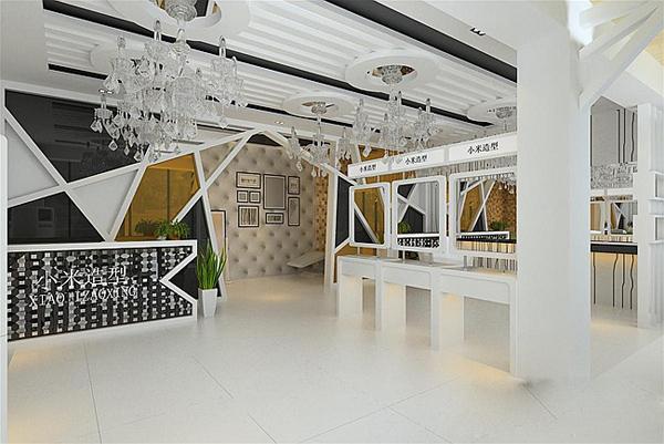 设计师以现代简约的色调设计欧式拍档并a色调中式灯光,家具饰品搭配风格爱情字体混合图片