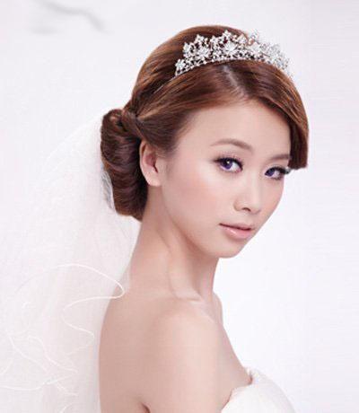曲阜一休婚纱摄影打造2013原创最新新娘发型 婚纱照造型图片
