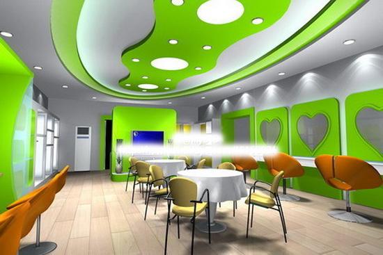 儿童影楼店面布局装修设计案例,效果图欣赏