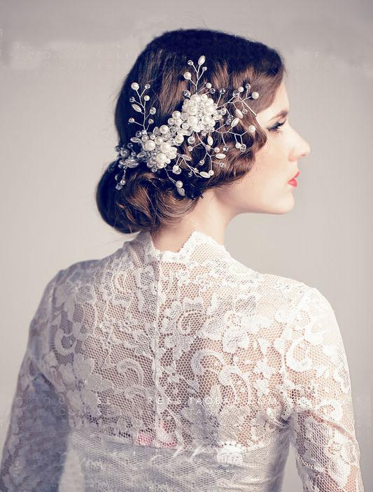 新娘头饰制作视频_波西米亚新娘头饰让你做精准俏丽新娘