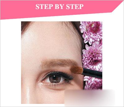 韩眼影的画法步骤图解