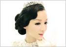 复古贵族风新娘皇冠造型-妆面赏析 98高清图片