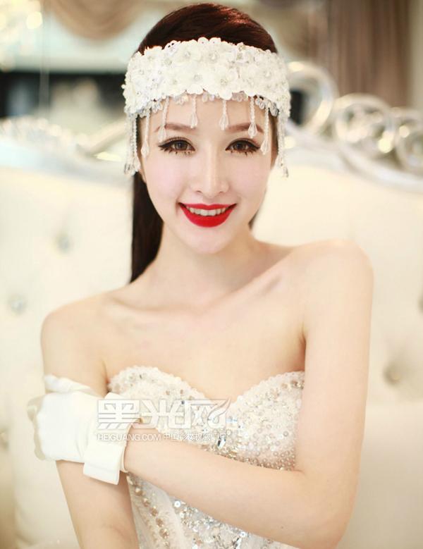2013复古仙女范新娘造型 展现完美气质_妆面赏析_影楼