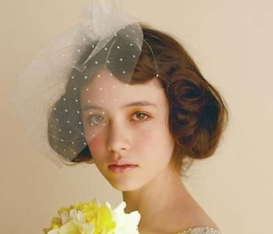 欧式古典新娘发型 油画般经典新娘造型图片
