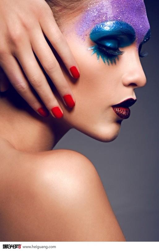 时尚彩妆化妆造型图片