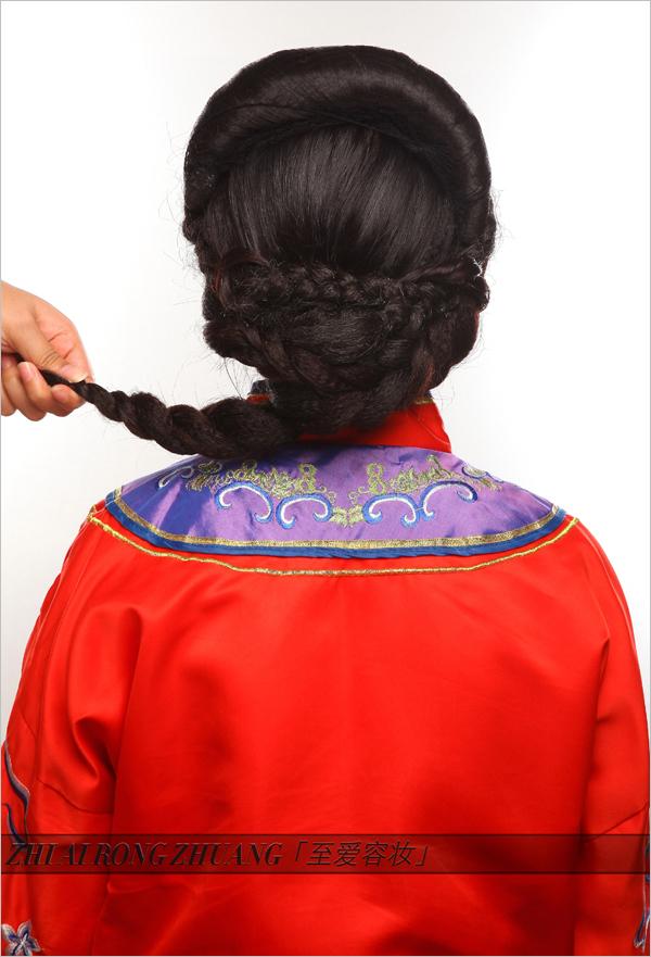 中式秀禾服新娘造型教程 中式婚礼必备妆容