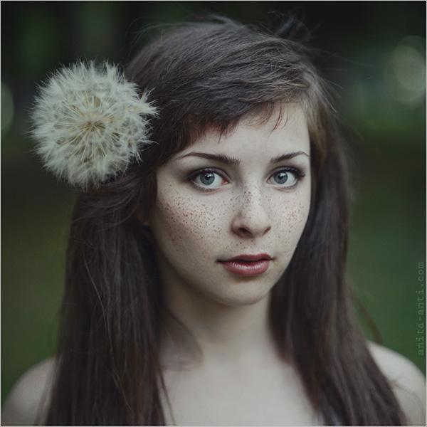 乌克兰女摄影师anitaanti:坠入童话梦境的森女人像