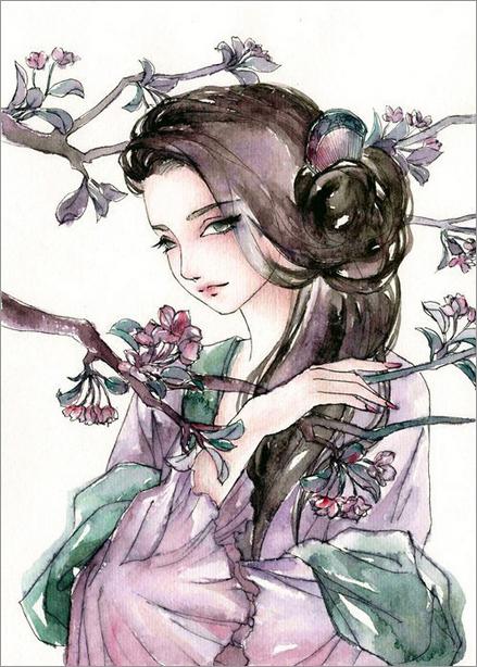 年轻绘画师白珊瑚精美绘画作品欣赏