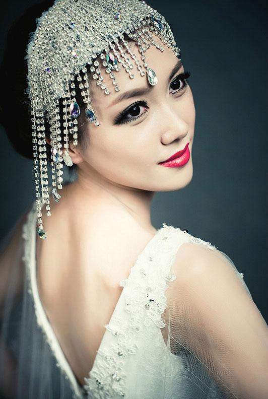 2013最新新娘妆容造型 极奢享受(一)图片