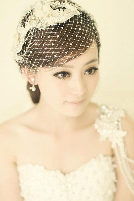 清丽脱俗 唯美韩式新娘造型推荐_妆面赏析_影楼化妆
