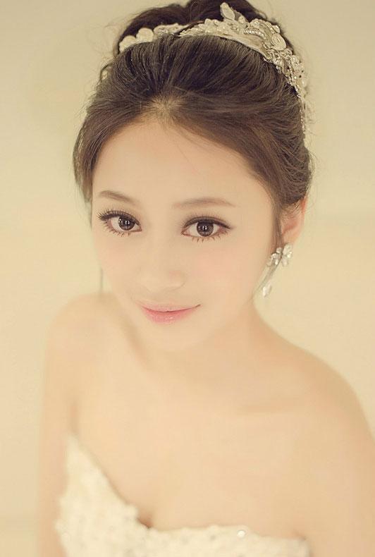 2013最新韩式新娘造型 优雅温婉图片