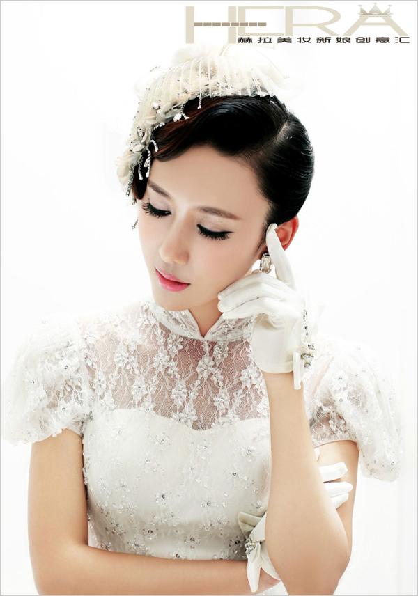 2013最新怀旧复古风新娘造型(2)