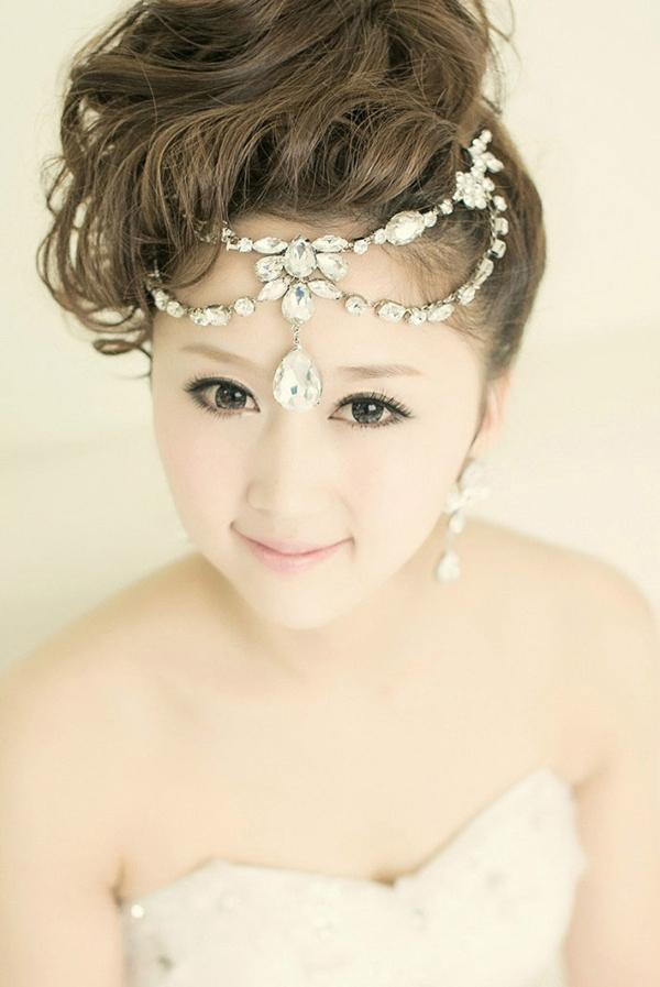 2013精致优雅新娘造型图片