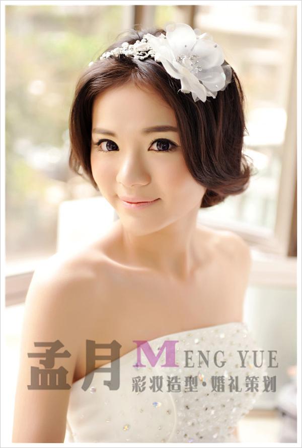 小清新新娘造型 做婚礼上最动人的新娘