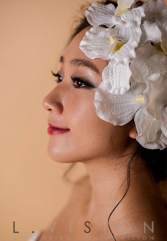 【化妆赏析】欧美范新娘造型 感受好莱坞女神般的神秘图片