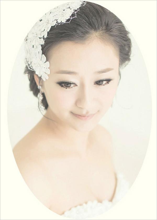 2013精致新娘韩式造型 简洁惊艳_妆面赏析_影楼化妆