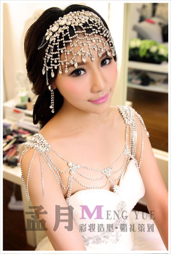精致优雅新娘长发造型 唯美清新