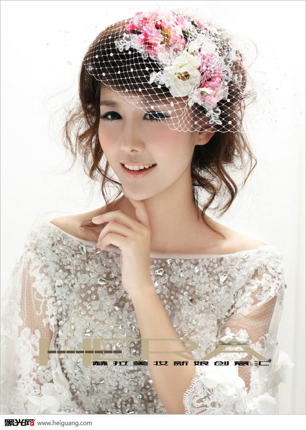 花仙子新娘造型
