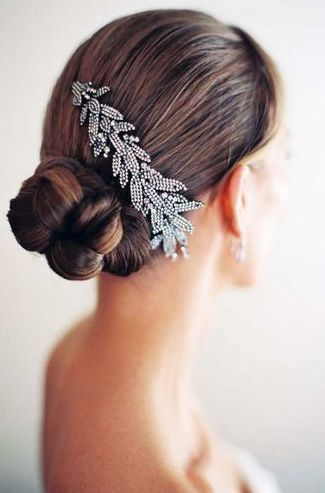 2013复古别致的新娘发型 释放别样的柔情与魅力