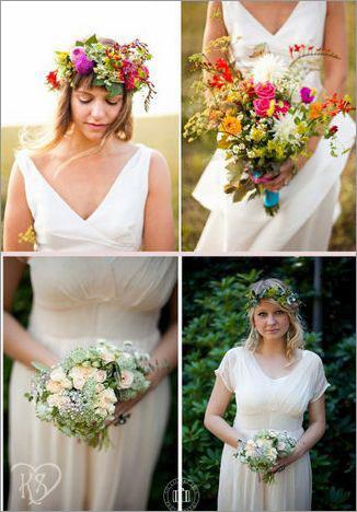 新娘花环造型 新娘头饰
