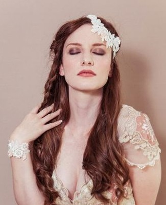最具人气的长发新娘发型 做360度完美新娘