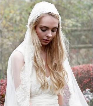 最具人气的长发新娘发型 做360度完美新娘图片
