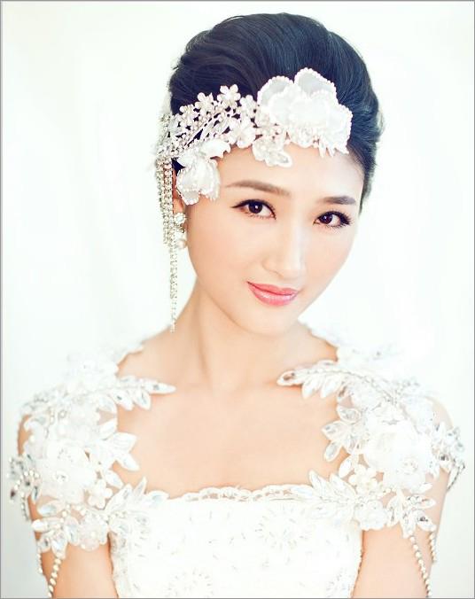 新娘石尚造型 新娘妆图片