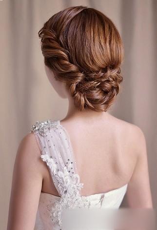 2013最新韩式新娘发型设计
